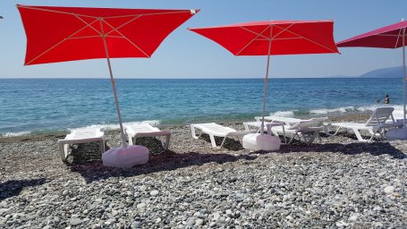 Пляж Wellnes Park Hotel Gagra all inclusive